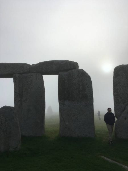 A misty dawn at Stonehenge