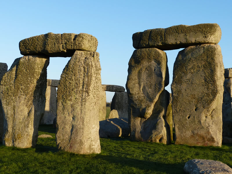 Viewing the giant stones on a Stonehenge Private Tour