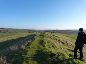 On top of West Kennet Long Barrow