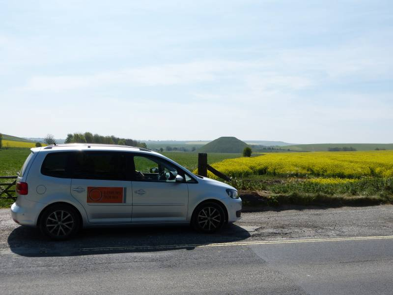Oldbury Tours provide private tours of Avebury and Stonehenge in their 7 seat Alhambra Lux