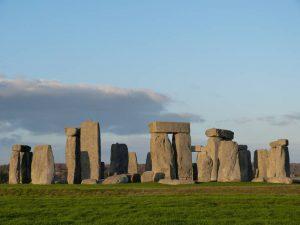 Stonehenge in December light