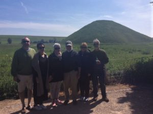 Silbury Hill In early summer sun with Oldbury Tours