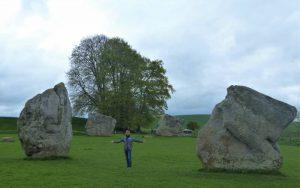 At Avebury in April