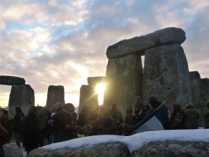 Sunrise with a Stonehenge guide