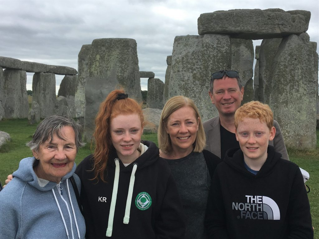 Stonehenge Private Guide for family tour