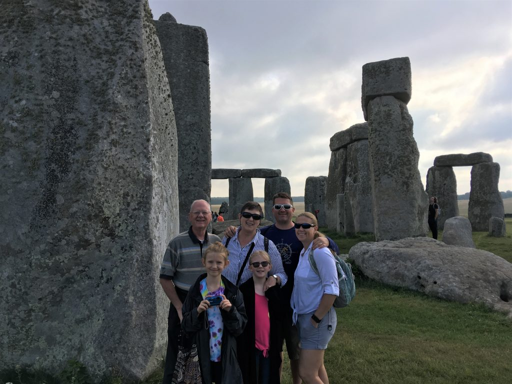 On a guided tour of Stonehenge and Avebury