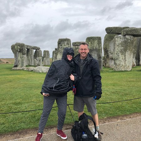 Stonehenge guide - at Stonehenge in early October with Oldbury Tours