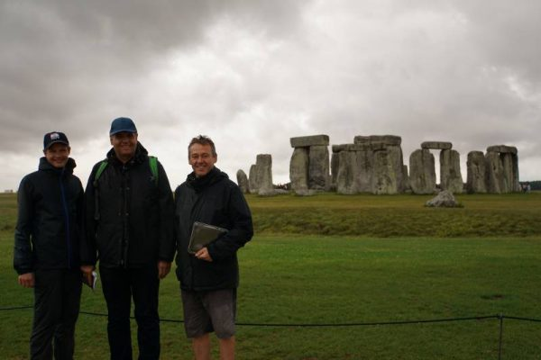 Stonehenge Private Guide - at Stonehenge in July