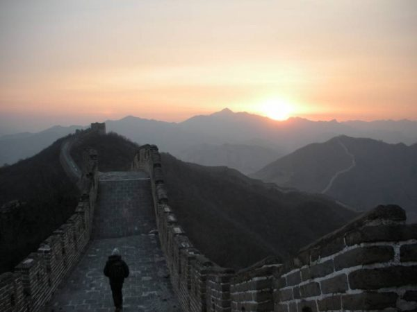 Sunset - The Great Wall