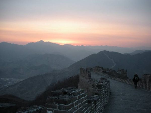 Sunset - The Great Wall of China