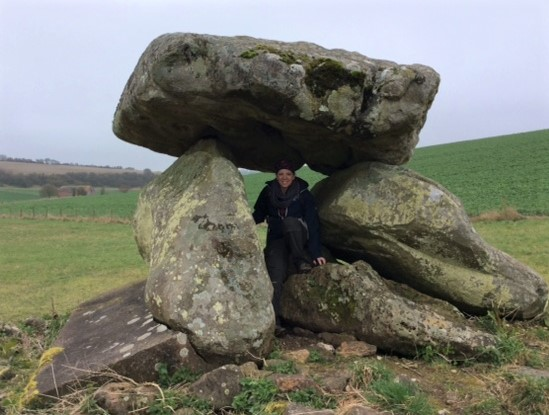 Stonehenge private guided tours - at the Devil's Den, Wiltshire