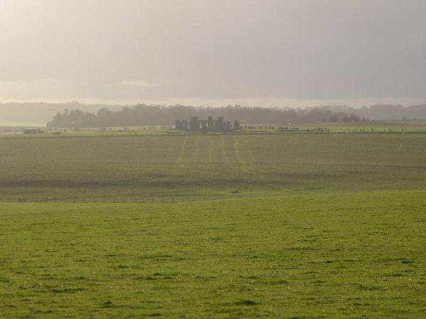 Stonehenge half day tour - looking towards Stonehenge, Wiltshire, UK