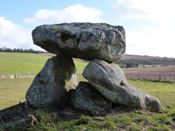 Avebury hike - The Devil's Den, Clatford Bottom, near Marlborugh and Avebury, Wiltshire, UK
