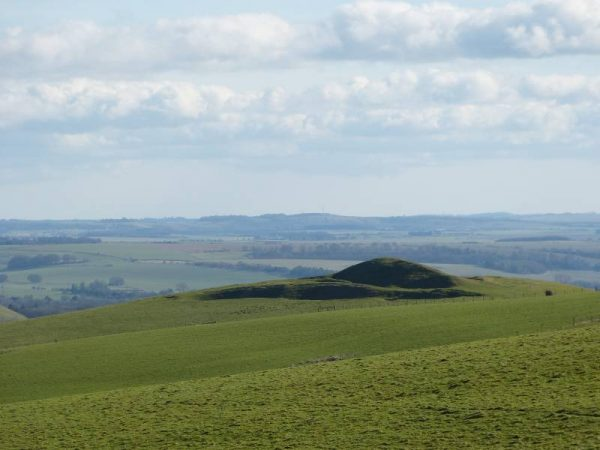Stonehenge and Avebury guided tours - Adam's Grave overlooking the Pewsey Vale, Wiltshire, UK