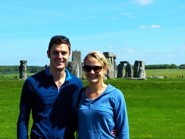 Stonehenge and Avebury tours - Stonehenge smiles with Oldbury Tours