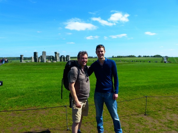 A beautiful May day at Stonehenge