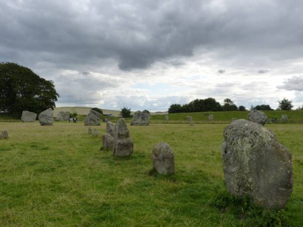 Visit with an Avebury guide - perhaps the oldest part of the monument