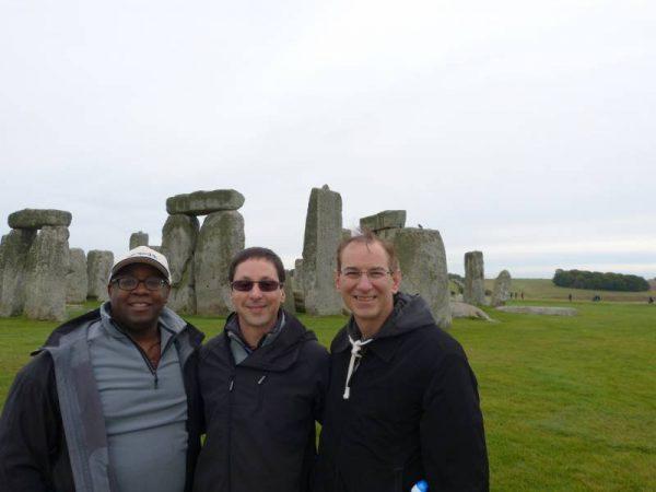 Stonehenge half day tour - all smiles at Stonehenge, Wiltshire, UK