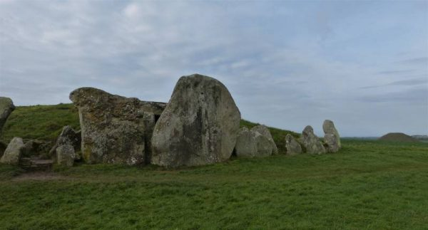 West Kennet Long Barrow - the blocking stones