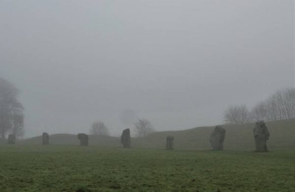 Avebury half day tour: Figures in the mist - Avebury stones