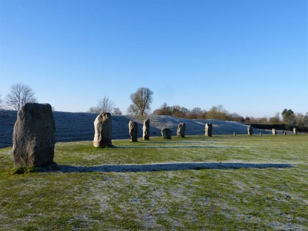 Avebury private tour - frost at Avebury by Oldbury Tours