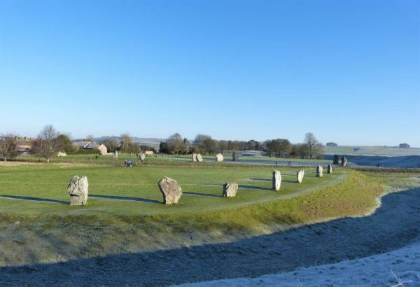 Avebury hike - Avebury henge and stone circles, Wiltshire, UK