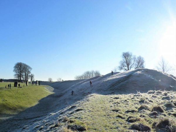 Visit with an Avebury guide - Avebury in winter