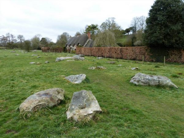 Stonehenge and Avebury guided tours - sarsen stones at Lockeridge Dene, Wiltshire, UK