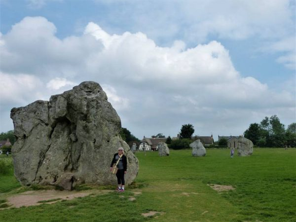 Avebury guide - at Avebury stone circle with Oldbury Tours