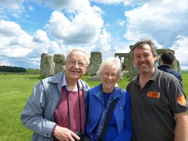 Stonehenge private tours - at Stonehenge with Oldbury Tours