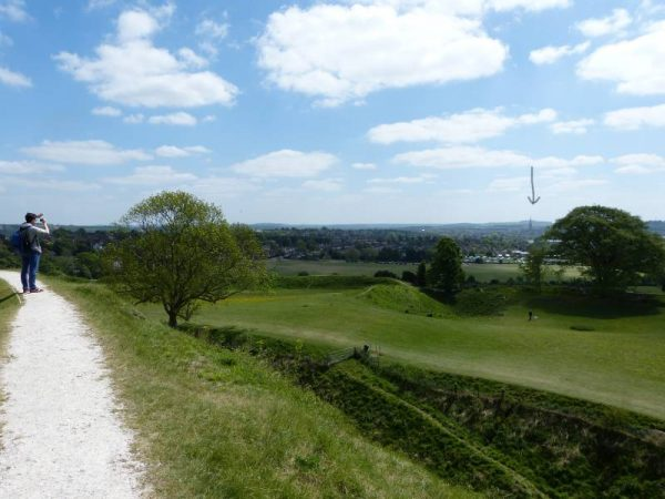 Avebury Guided Tours - at Old Sarum with Oldbury Tours