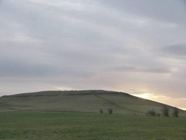 Stonehenge half day tour - Sunrise at Knap Hill, Wiltshire, UK