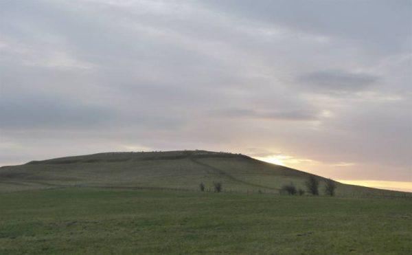 Causewayed enclosures - Knap Hill at dawn