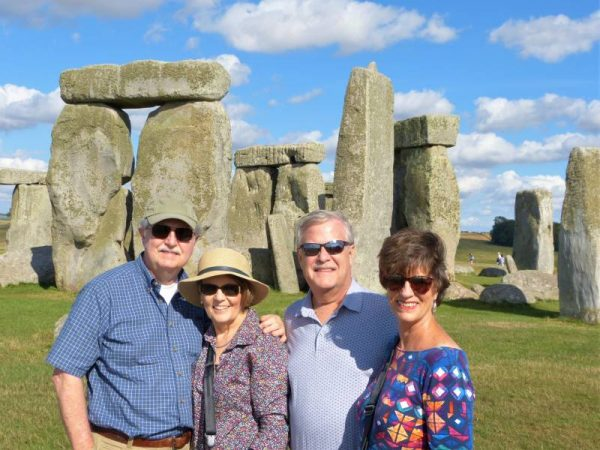 Stonehenge guide - at Stonehenge in summer 2018 with Oldbury Tours