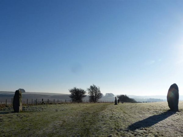 Stonehenge private guided tours - at West Kennet Avenue, Wiltshire with Oldbury Tours