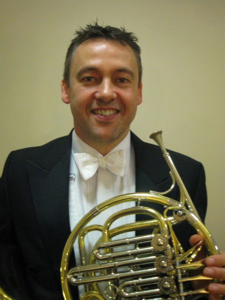 Laurence Davies, horn player